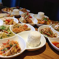 Thai tapas lunch set starts from £8.50 and is available from 12:00 until 3:00pm
