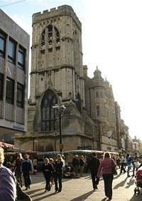 St Michael's Tower, The Cross, Gloucester