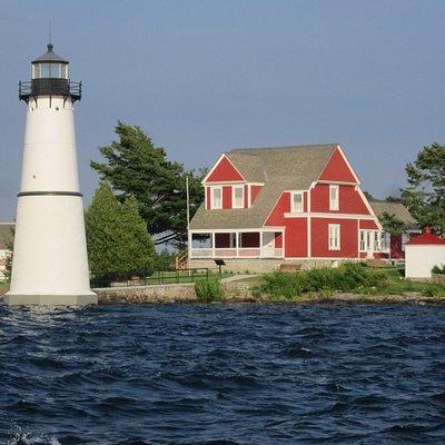 Rock Island Light House, 1000 Islands, St. Lawrence River, NY