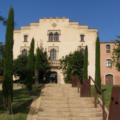 fachada entrada Can Xardo
