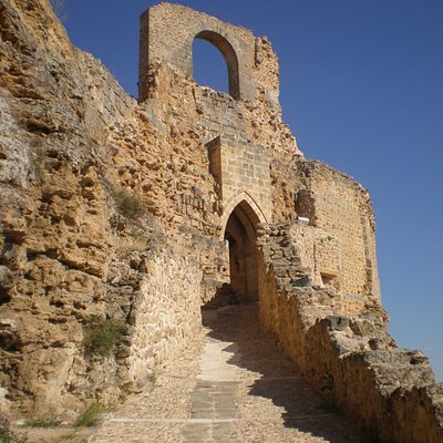 Entrada al castillo
