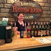 Ashley in the Heston Farm Tasting Room