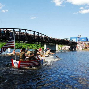 Festivities at the Annual Maritime Festival on the 4th of July (NOAA)