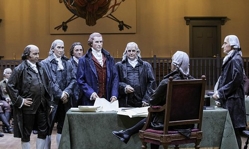 Trumbull's 'Declaration of Independence' comes to life.