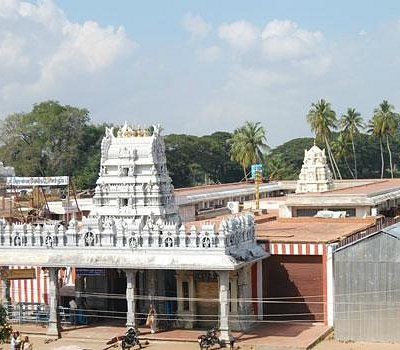 A View Of Prasanna Venkatachalapathy Temple