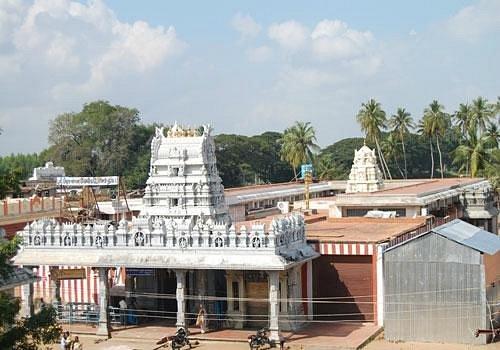 A View Of Prasanna Venkatachalapathy Temple