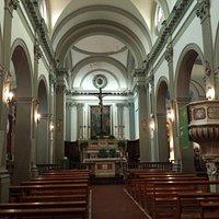 Inside The little church.