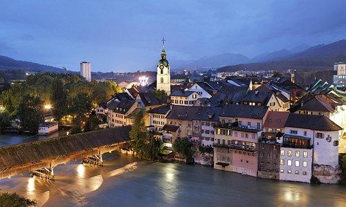 Altstadt Olten bei Nacht