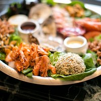Seafood Platter at Brookwood