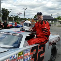 getting ready to drive a late model