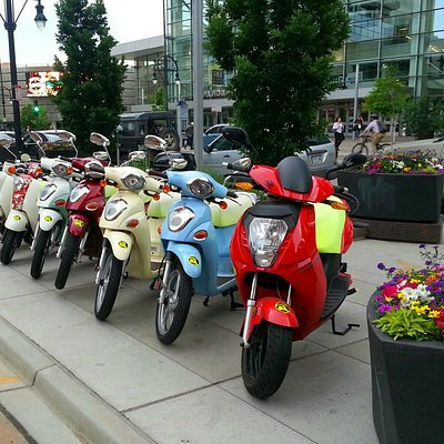 We will select the best scooter based on your height, experience, and plans.