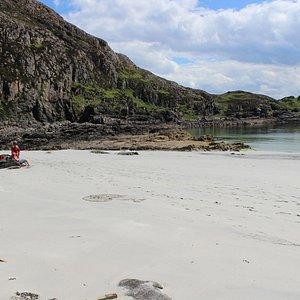 Beautiful Sandy beach. Very few visitors.