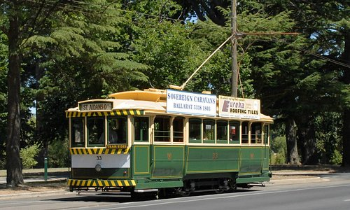 Electric Trams operate every weekend and holiday