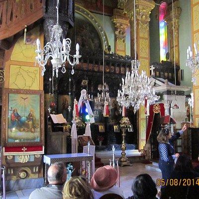 Ornate Interior, Taxiarches Church