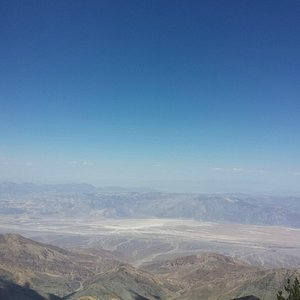Badwater Basin in the east from Summit