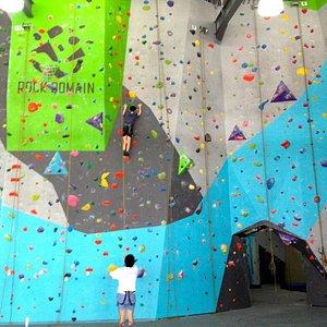 Rock Domain Climbing Gym