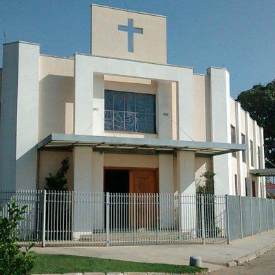 Fachada da Igreja São Lazaro