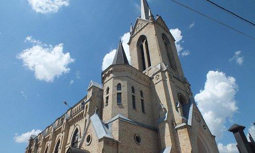Лютеранская кирха в Луцке.