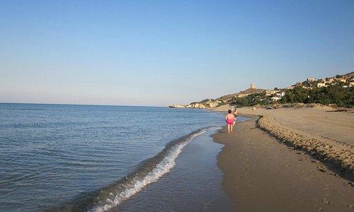 manfria spiaggia libera