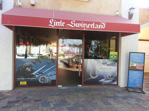 Storefront Little Switzerland Paseo, Aruba