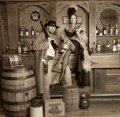Saloon scene
