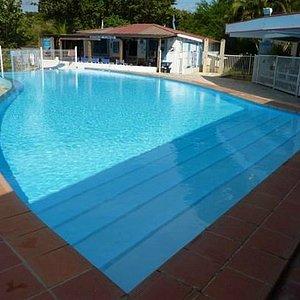 Le centre et la piscine Corail Club Caraibes