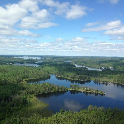 Temagami Fire Tower View