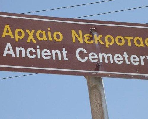 ancient cemetery, Parikia seafront, Paros
