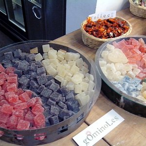 variety of sweets