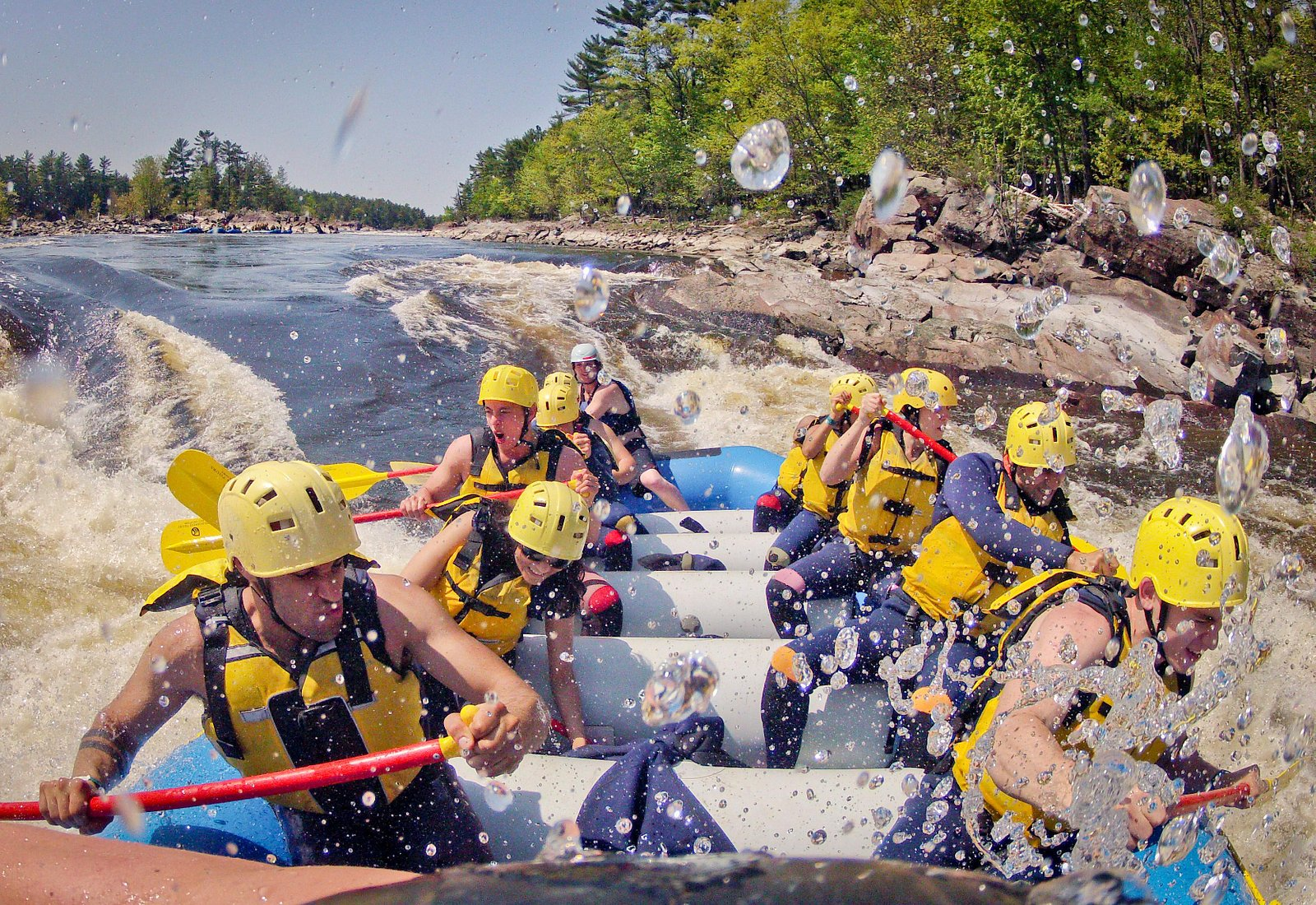 Whitewater Rafting in the Ottawa Valley