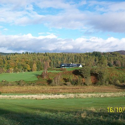 Looking back towards the Clubhouse