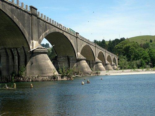 Lovely historic bridge at Fernbridge