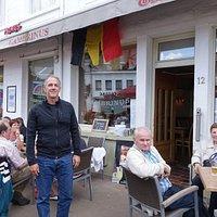 In Tervuren at Gambrinus, a friendly small restaurant.