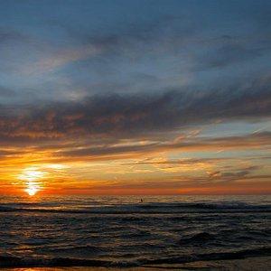Sunset at Laketown Beach