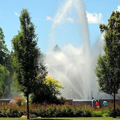 Ann Morrison Park Fountain
