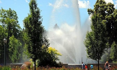 Ann Morrison Park Fountain