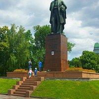 Kyiv: Taras Shevchenko Monument