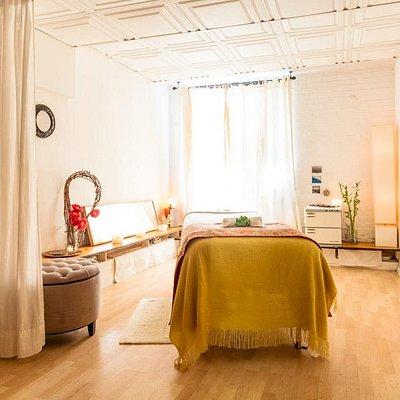 Beautiful treatment rooms