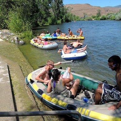 Boise River at Barber Park