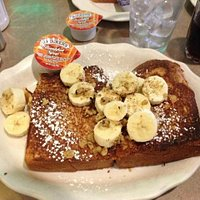 French Toast with bananas