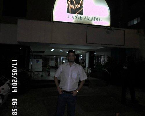 David no Teatro Jorge Amado.