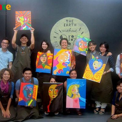 Group photo - CW Portrait in Van Gogh style