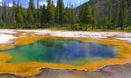 torquoise pool