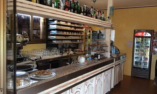 Inside view of Bar Counter