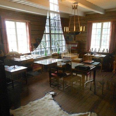The room Hjalmar lived in