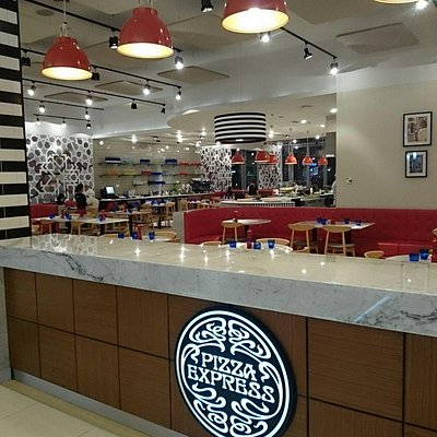 Pizza express,  fujaira city center mall