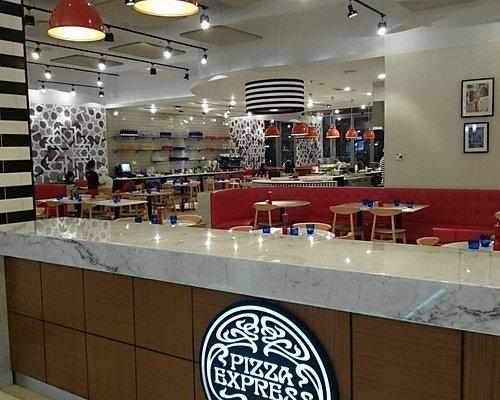 Pizza express,  fujaira city center mall