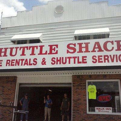 shuttle shack!