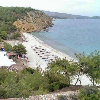 Пляж Металия
