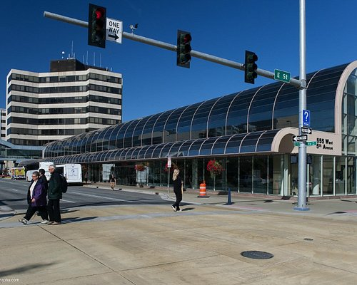 The William A. Egan Civic & Convention Center has 85,000 square feet of meeting space.